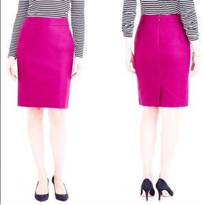 J. Crew Factory The Pencil Skirt pink size 4.